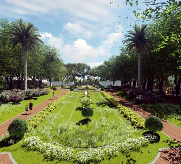 San Isidro: Comienza la reconstrucción total de la Plaza Mitre en el casco histórico