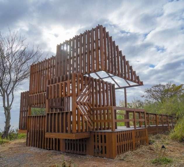 Vicente López cuenta con el primer observatorio de aves corredor norte